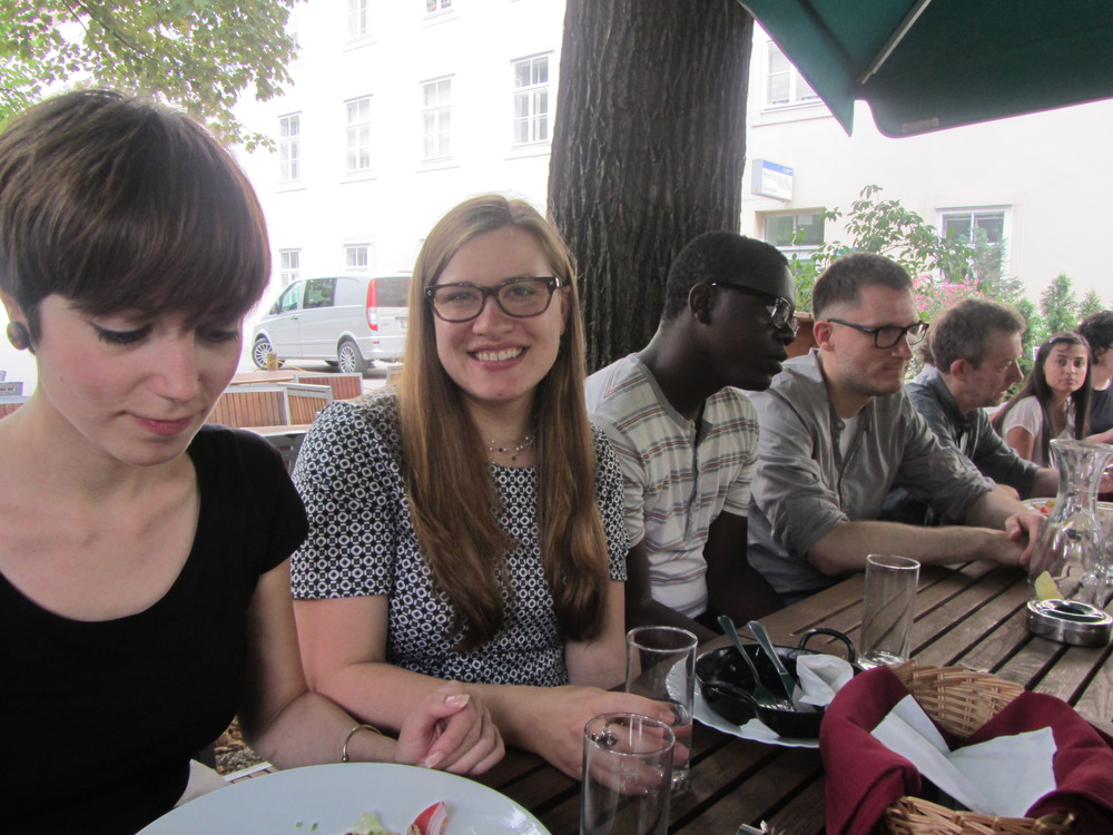 7.5.14 Vienna, Austria- First lunch with group (2).JPG