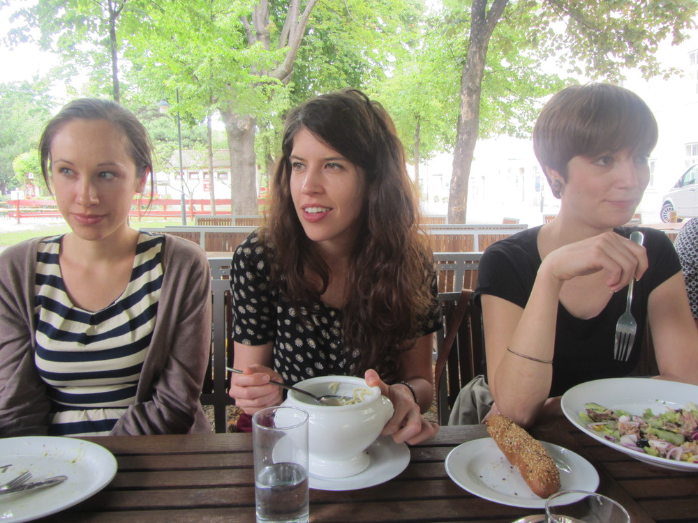 7.5.14 Vienna, Austria- First lunch with group (1).JPG