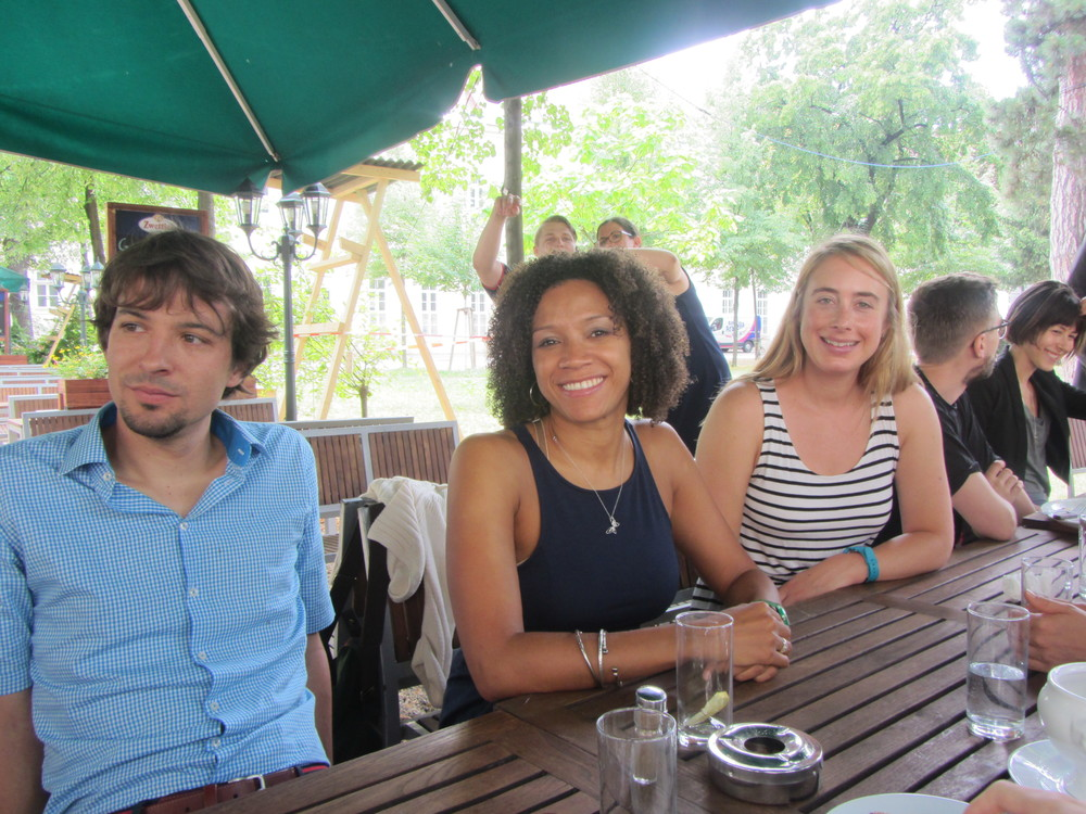 7.5.14 Vienna, Austria- First lunch with group (4).JPG