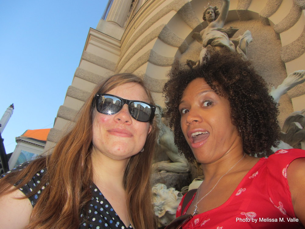 7.6.14 Vienna, Austria- After class exploring (24)- me and samantha.JPG