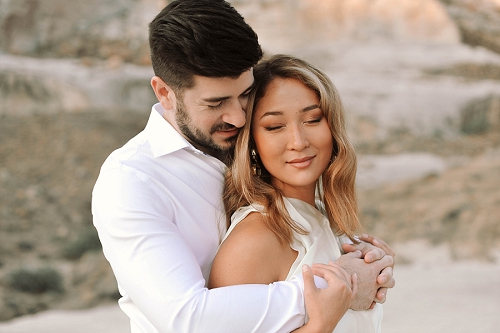 Couple gets engaged at Amangiri resort