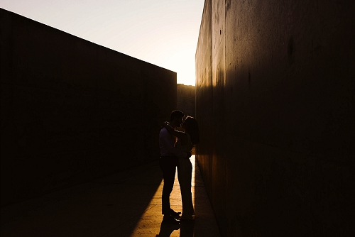 Amangiri sunrise engagement photos