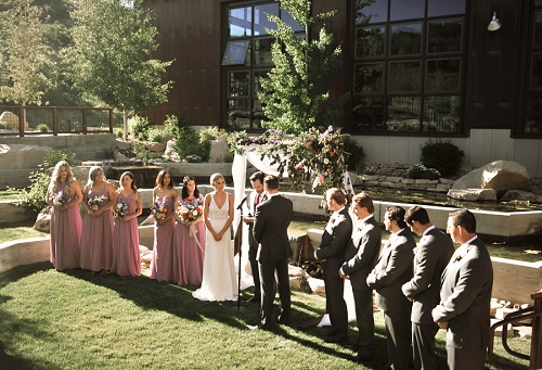 High West Distillery wedding in Park City Utah