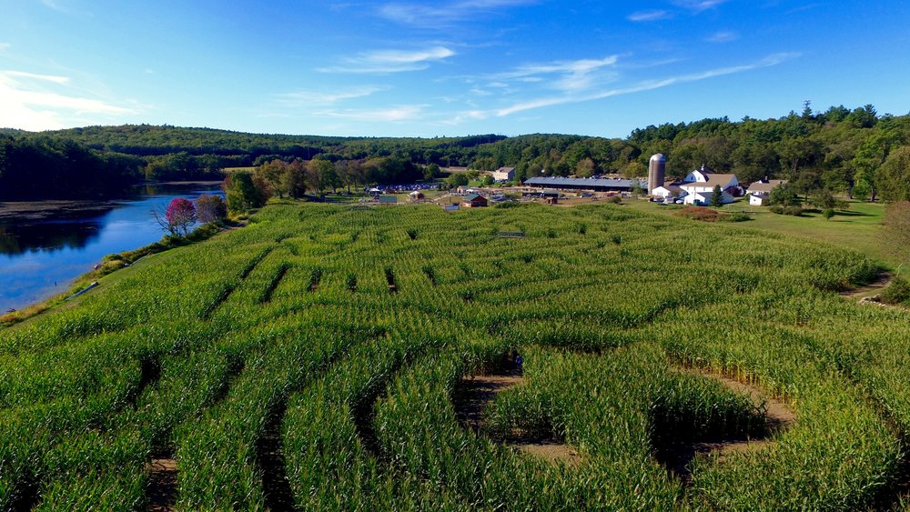 West End Creamery Fall Festival and Corn Maze (2015 - First Responders Corn Maze)