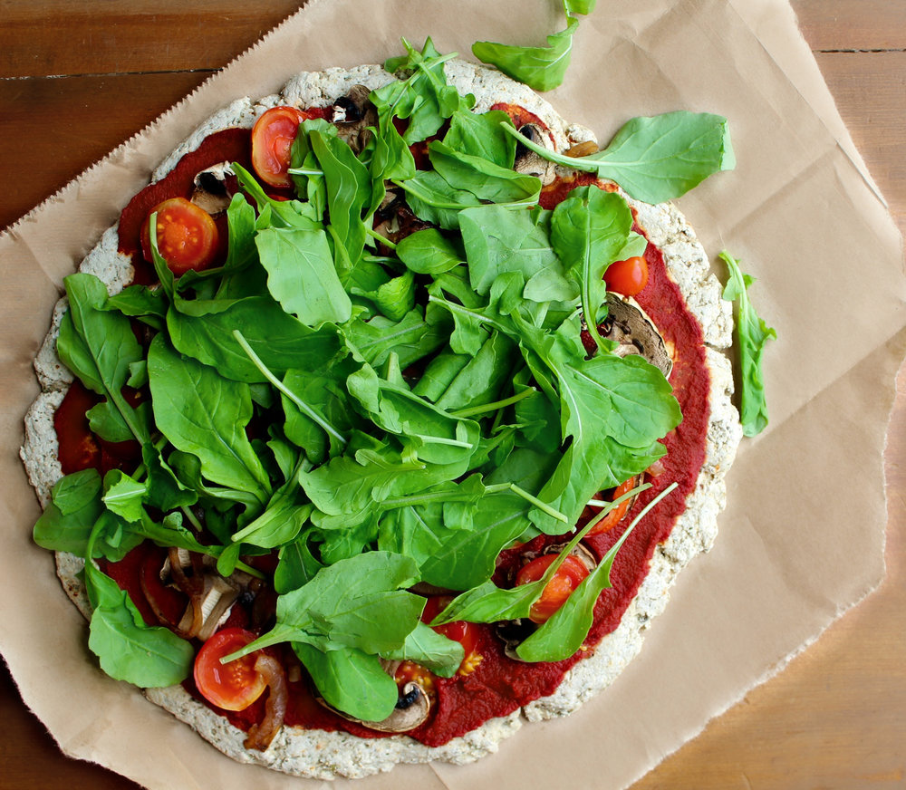 VEGAN PIZZA WITH CARAMELISED ONIONS - vegan, low fat, low sodium, high carb low fat, HCLF, plant based, dairy free, gluten free, greens,   whole foods, dinner, recipe, easy, pizza  , natural  , recoveringraw.com, recoveringraw