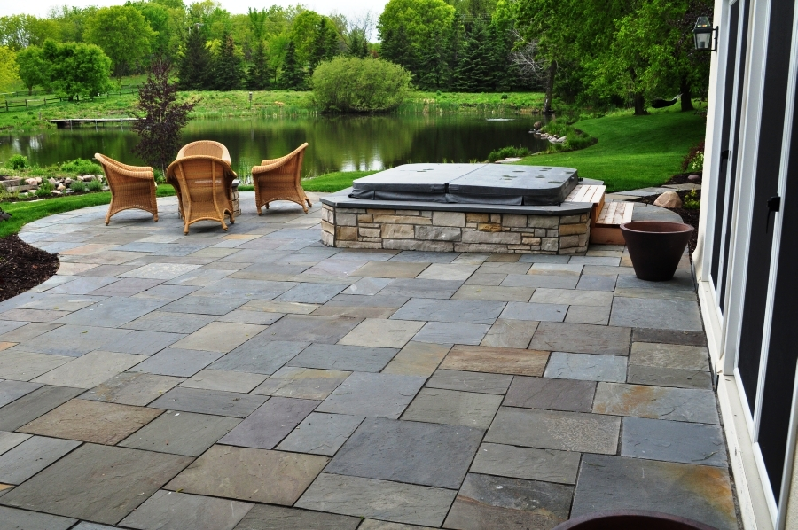 Plus, Itu0027s A Great Way To Make Your Hot Tub Look At Home With A Natural  Stone Veneer!