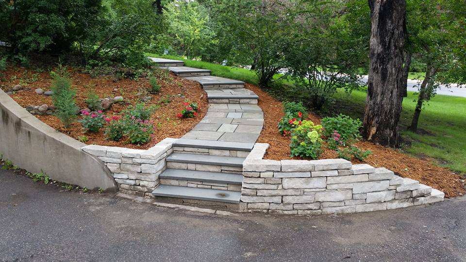 Stone Walkway Ideas to Add Value to Your Home Colonial Stone