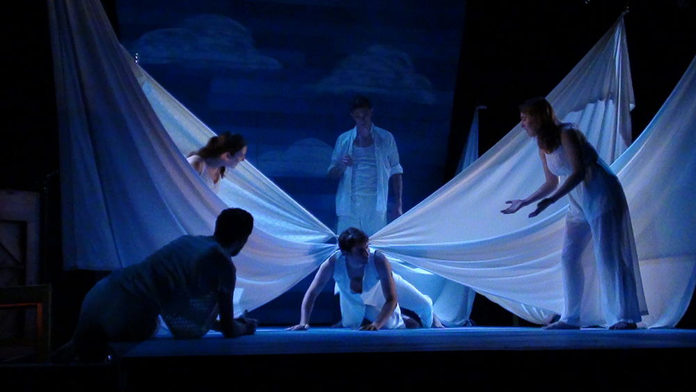 Company member Brad Wilson as Eros in a scene from  Metamorphoses , which runs June 18-28 at the Hamilton Murray Theater