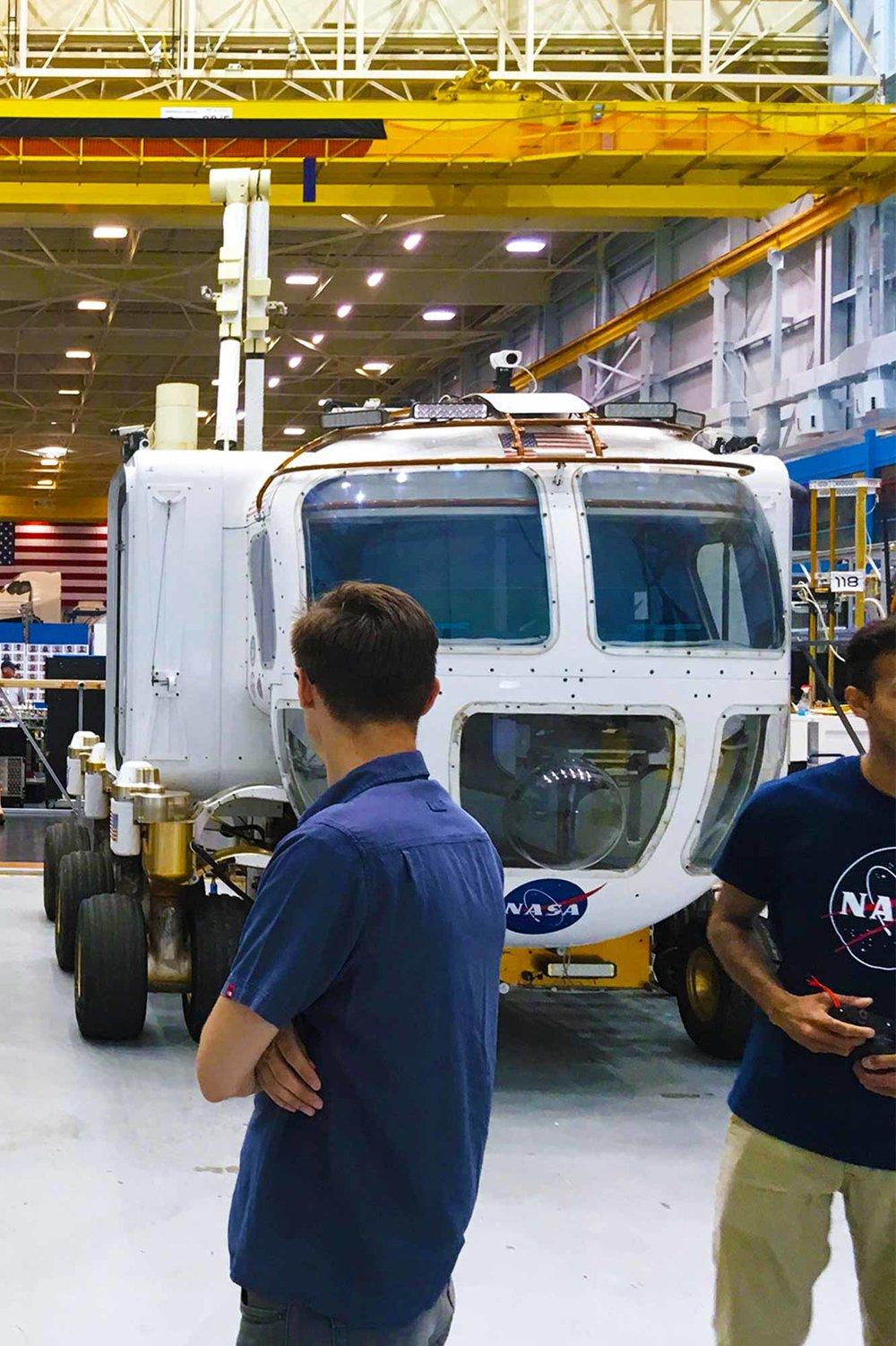 Exploration vehicle design iterations