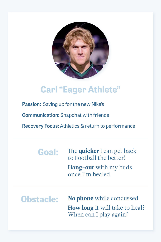 Athlete Persona