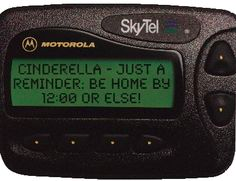 SkyTel Nationwide Pager