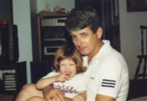 Daddy and me circa late 1980s.