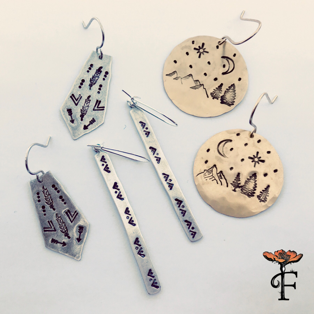 We're now offering DIY Jewelry Stamping Parties - Grab some lady friends and come make some one of a kind GORGEOUS jewelry!Click to learn more!