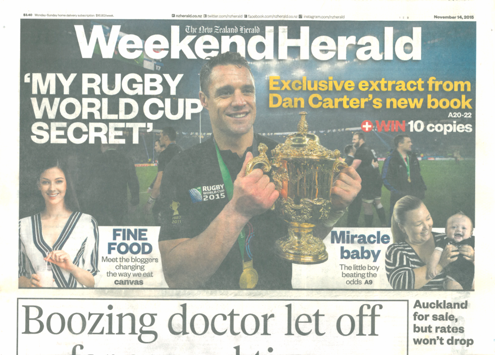 The New Zealand Weekend Herald & Canvas magazine