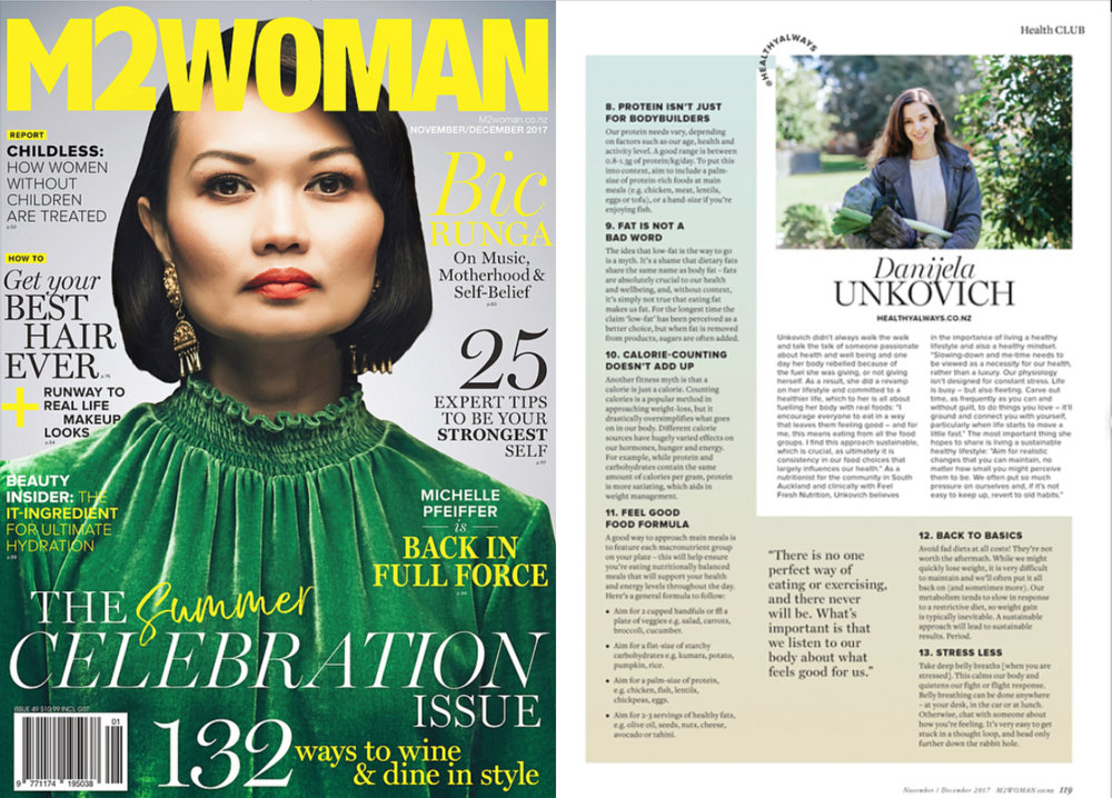 M2woman Nov/Dec '17 print