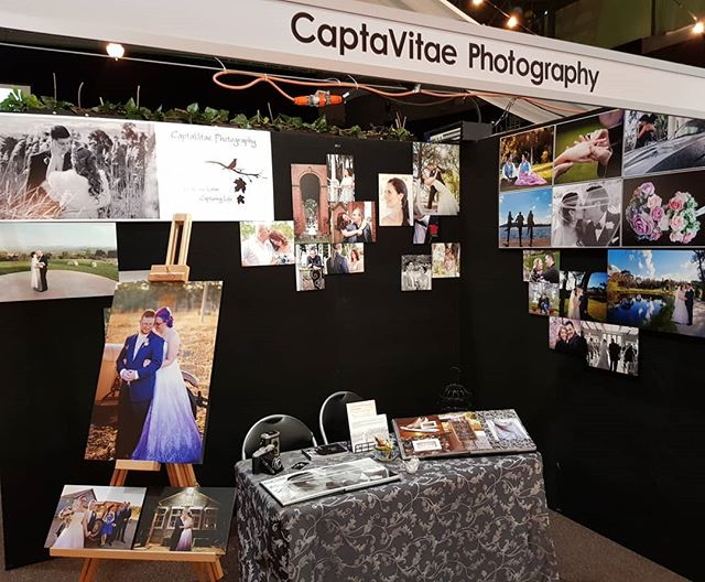 Set up and ready to meet all the happy couples planning their weddings. Come by and see us at the Canberra Wedding Fair @canberrawedding at the AIS.  #wedding #canberraweddings #weddingfair #weddingphotography #canberraweddingphotographer #engaged #engagements