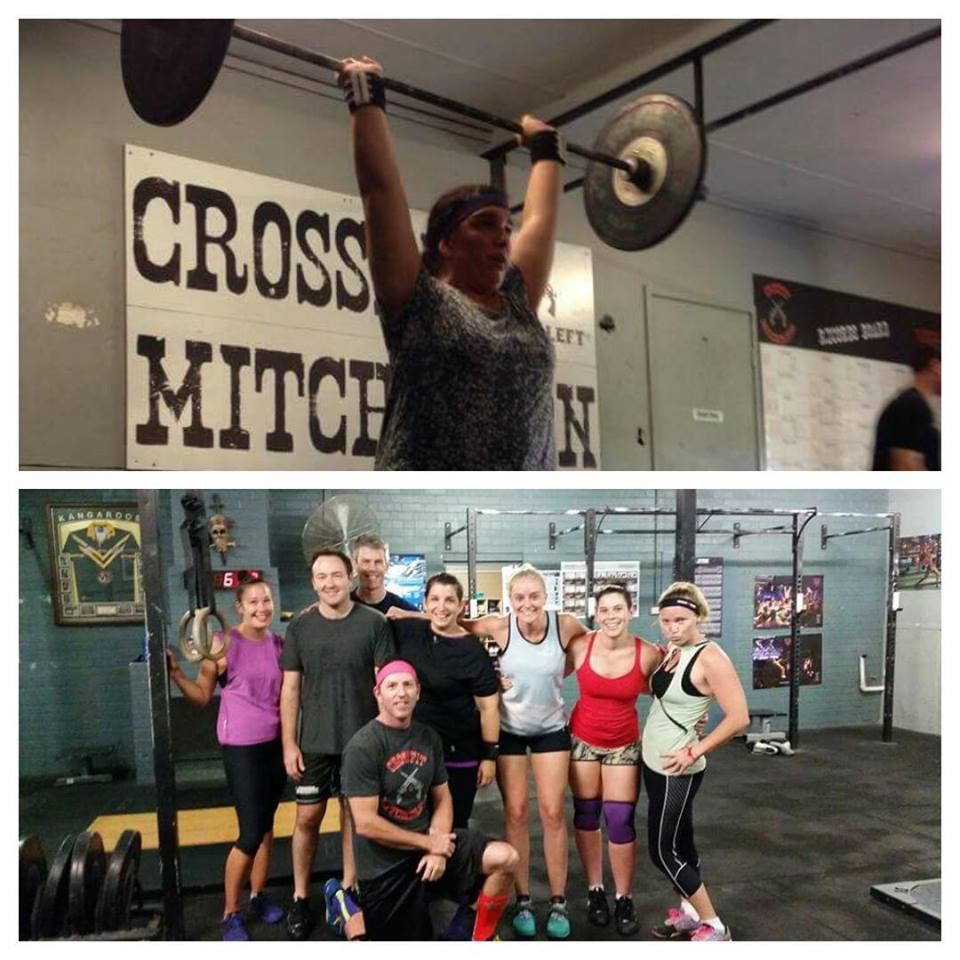 Q: Who or what go you into crossfit?  Elisha Thompson    Q: Why did you give it a try?  To be healthy and get fit   Q: What made you come back after your intro?  Everyone seemed so welcoming and reassured me te: scaling   Q: How long have you been coming?  7months   Q: What improvements have you seen since starting?  I have gotten stronger. I am able to play with the kids without losing breath.    Q: What's the biggest change in your life have you seen since starting your crossfit journey?  I workout every week almost ;) and I eat better. My life is more focussed on my health.   Q: What keeps you motivated to keep crossfitting?  My goals and the trainers and other members.   Q: 2015 Goals?  Get overhead squats Get fitter Lose weight Do an rxd workout Deadlift over 100k   Q: Favourite movies?  Dirty dancing, saw, lord of the rings, hobbit   Q: Favourite foods?  Mexican, san choy bow    Q: What advice would you say to someone thinking of starting crossfit?  Just do it! Come when you can and don't be scared.   Q: What do you do (if anything) outside of crossfit?  Couch to 5 k   Q: If you could program a workout, what would it be?  It would have rowing, kb swings, front squat, push jerk   Q: What movement would you make your trainer do?  Depends on trainer lol. But I would like to see them do any lifting movements so I can continue to learn how to use good form. If I was being mean lots lots of air bike.