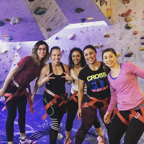 Gorgeous girls using their functional fitness - awesome stuff! - Lily
