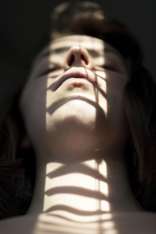self portrait in blinds