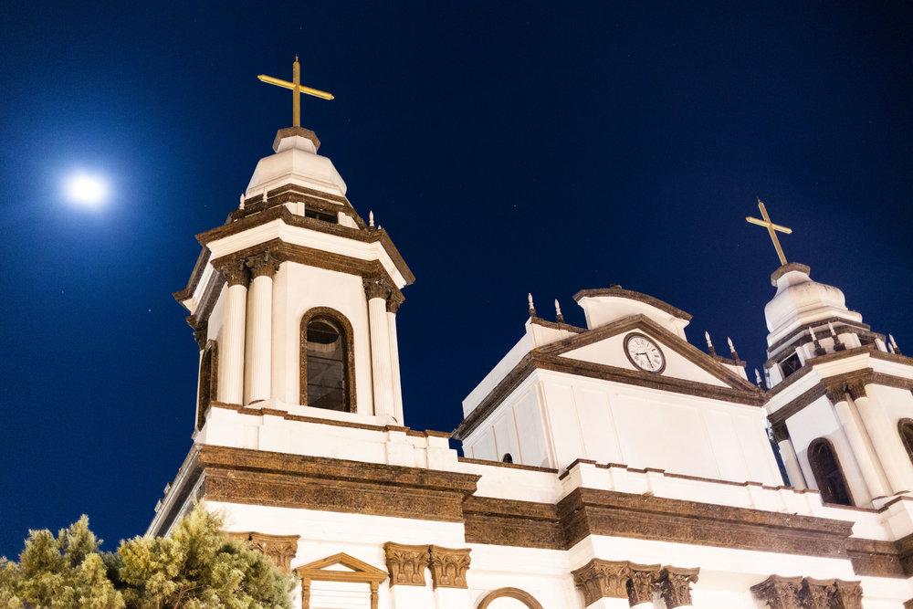 Alajuela Cathedral, near San José, Costa Rica.