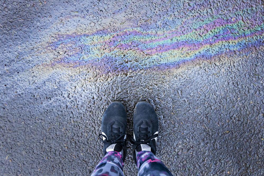 Sofia Angelina Photography Rainbow Shoefie