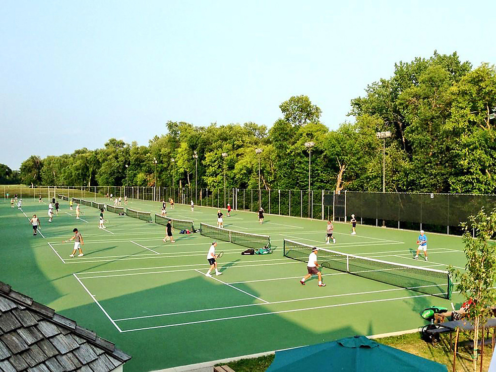 Membership has privileges! - * no court fees* regular social events*tennis balls provided for play on each court* free introductory lessons for new Members*access to leagues, clinics, lessons and tournaments