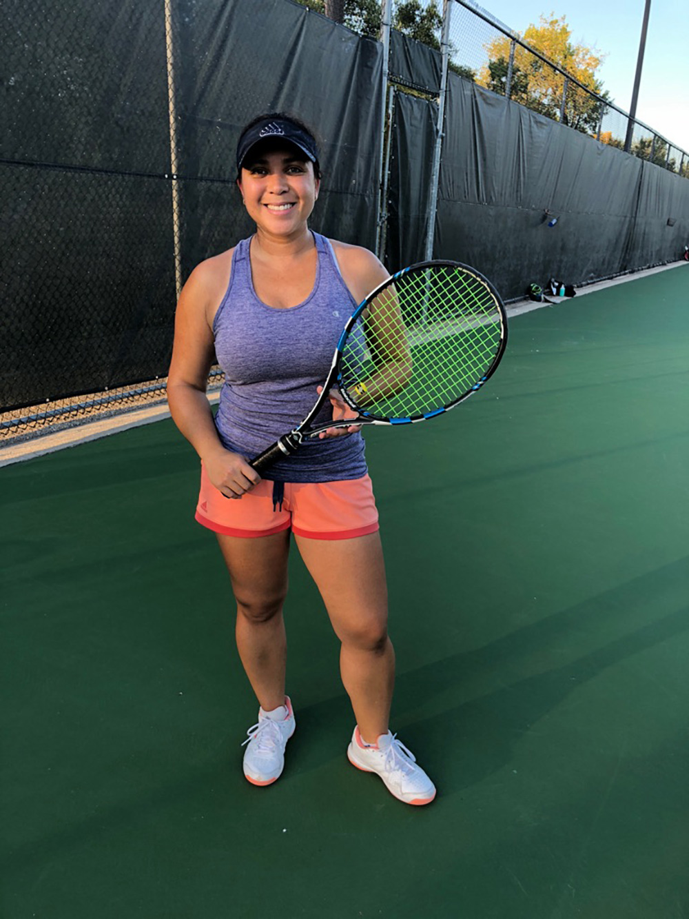 Joanna Forbes - womens singles winner