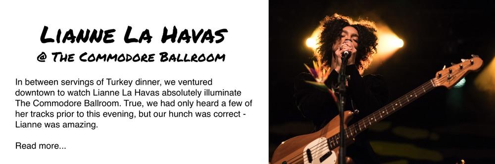 Lianne La Havas Commodore Ballroom