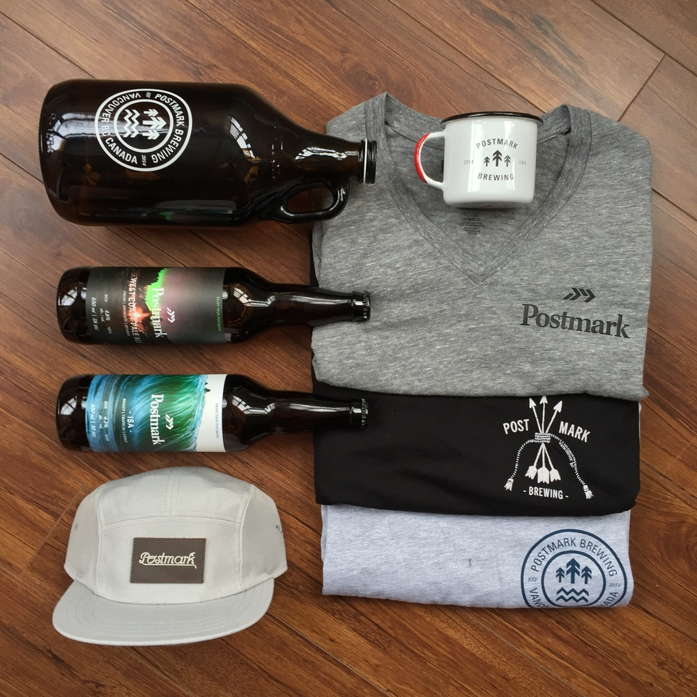 Essential Care Package courtesy of Postmark Brewing.