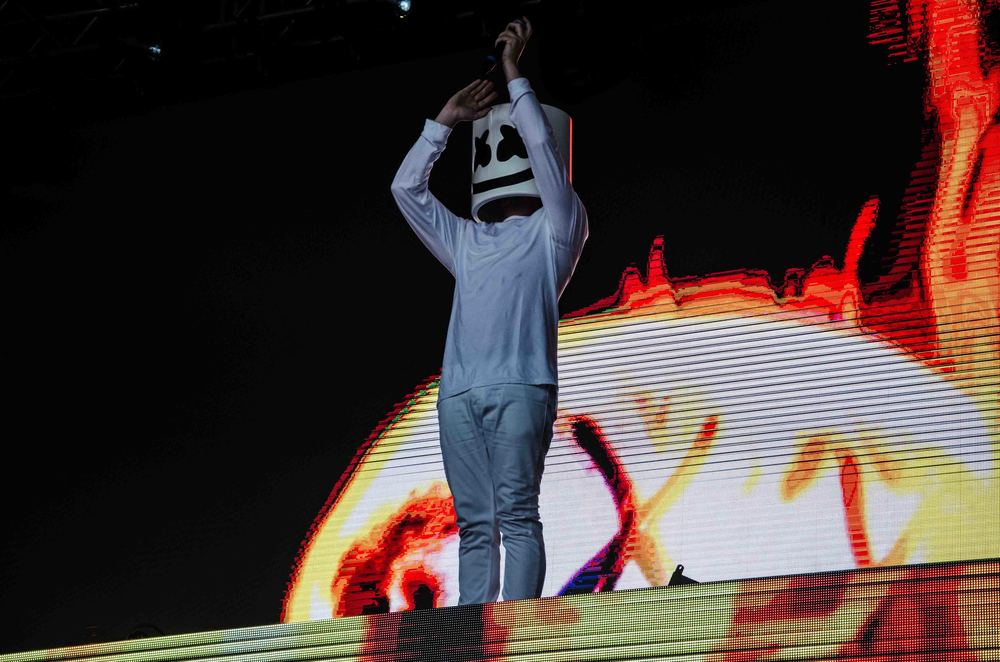 Marshmello Fvded In The Park