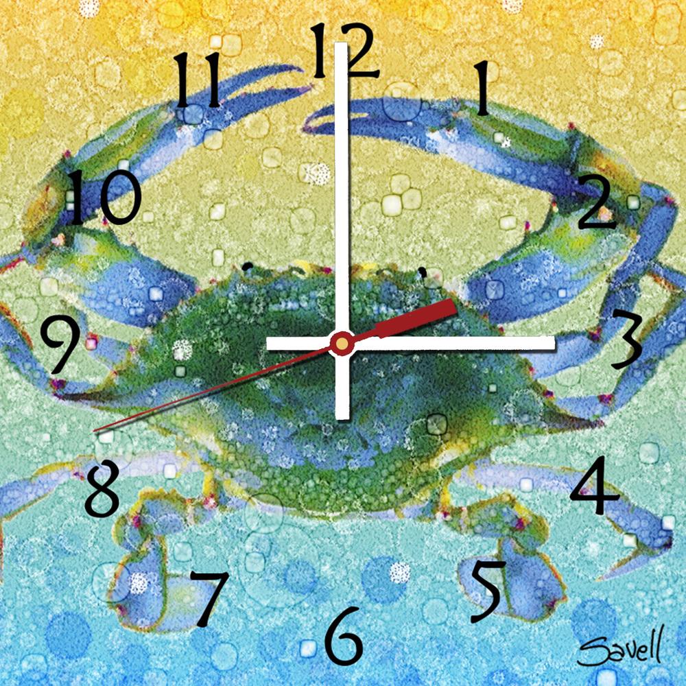 Crab Clock 8x8 Photo.jpg