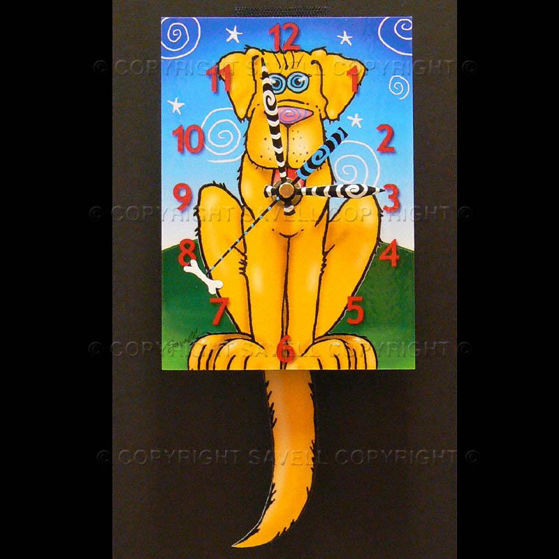 ebay-Dog-Yellow Clock.jpg