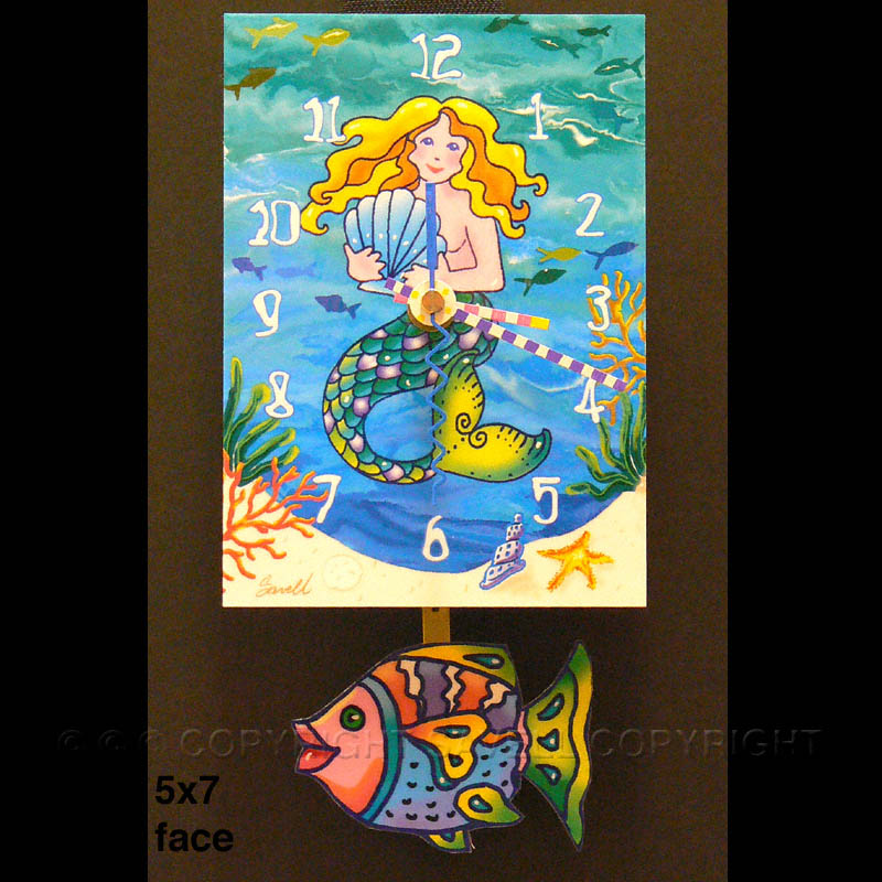 ebay-Mermaid& Fish Clock.jpg