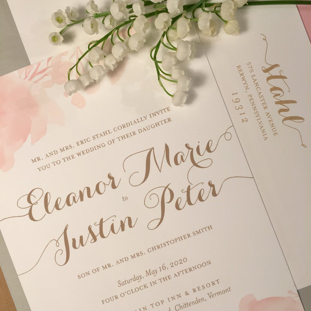 Custom Wedding Invitations | Columbia, MD — You\'re Invited by Jan