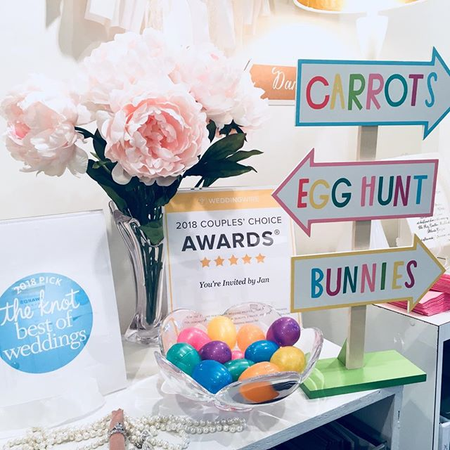 🥕 Carrots 🥚 Easter Eggs 🐰 Bunnies  #weddingseason 💌💍 and we are ready for it all! . . .  #weddinginvitations #marylandbride #luxuryinvitations #columbiamd #columbiamaryland #custominvitations #dmvwedding #luxuryinvitations #youreinvitedbyjaninvitations #envelopeaddressing #pantone2018