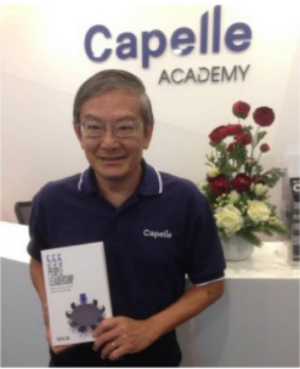 555 People Leadership  author, Mr Tan Tat Jin of Capelle Consulting