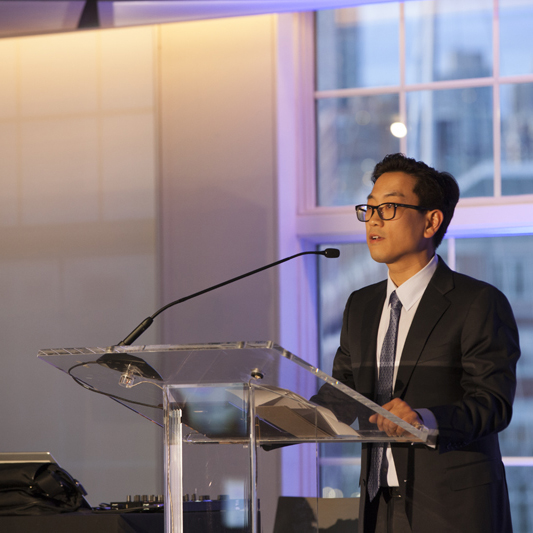 2015 Corporate Honoree - Richard Han of Crane Partners
