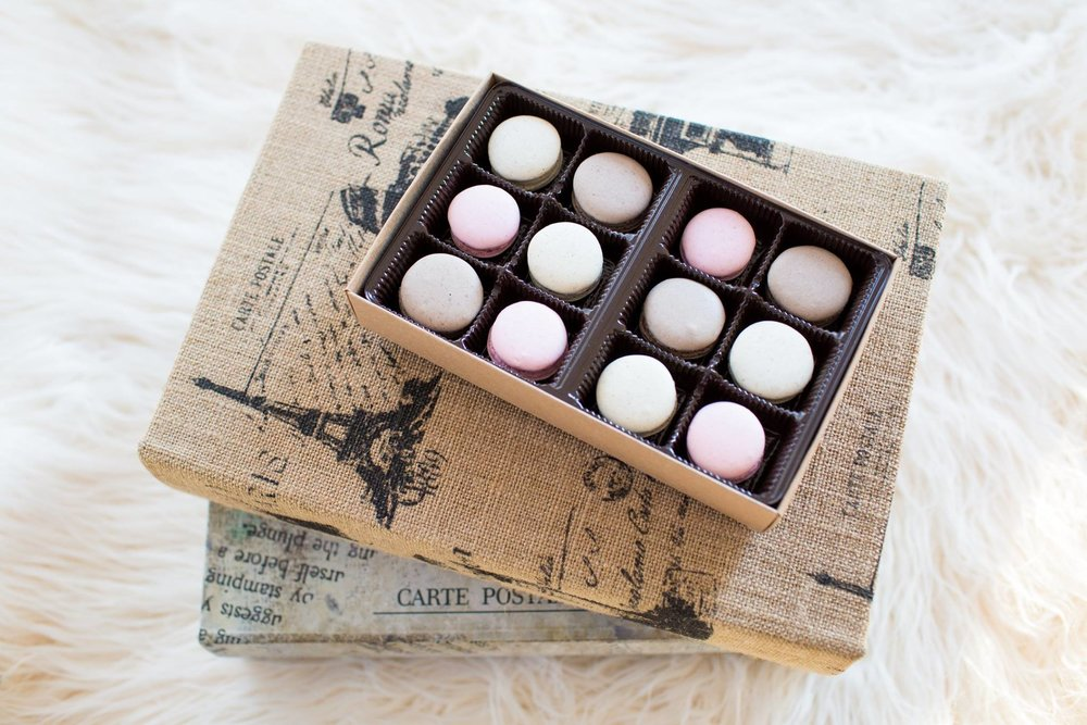 Mini Macarons by Joohee Bakes.  Purchase them here!