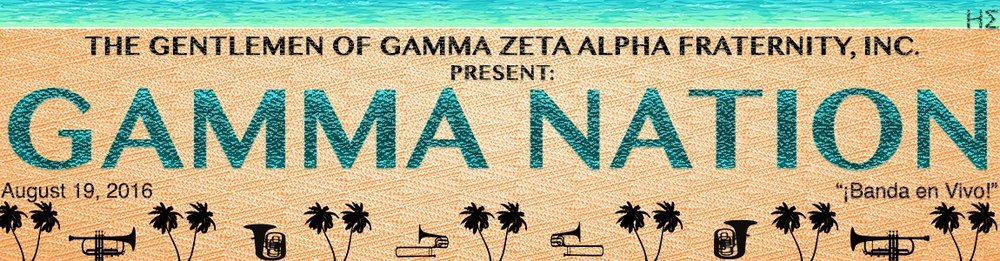 GAMMA NATION: August 19th, 2016