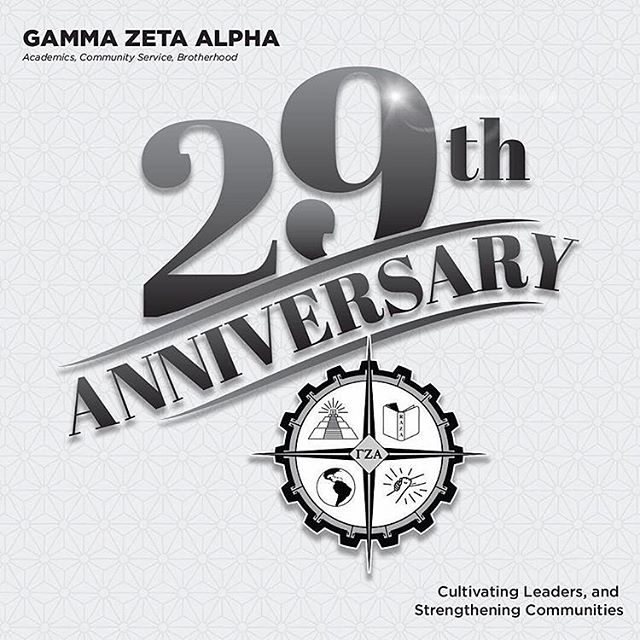 Today marks 29 years since our 15 founding fathers saw the need for a student organization that would provide support for them and others to succeed in higher education. With a vision of #AcademicExcellence, #CommunityService, and the Maintenance of the Latino Culture through #Brotherhood, these gentlemen brought the First Latino Fraternity to the West Coast. ---------------------------------------------------- Gamma Zeta Alpha Fraternity Inc. is proud to have become a vehicle for creating Latino Leaders who continue promoting the development of Latino males in higher education for almost three decades. ---------------------------------------------------- Cultivating leaders and strengthening communities #Since87!  #FoundersDay #GoGammas #TúSabes