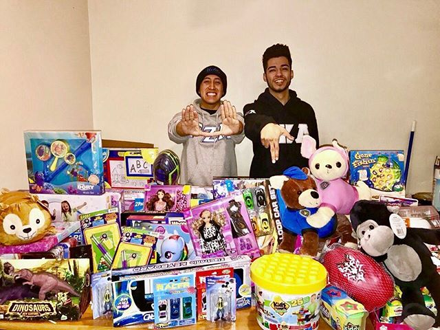 Huge thank you to everyone that helped contribute to our toy drive once again! Whether it was through your donation of toys or donations through our gofundme page, each and every contribution made a difference. It's always a privilege to have the opportunity to give back to our communities. Thank you for making our toy drive a success and giving numerous children in Boyle Heights the opportunity to open a present on Christmas Day.  #2016ToyDrive #HappyHolidays #GammasGiveBack