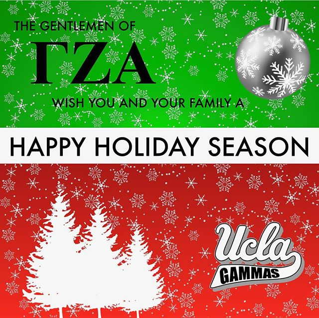We'd like to wish everybody a happy holiday season from our brothers here at the Eta Chapter. May your break be filled with great food, company, and love!  #HappyHolidays #GoGammas #TúSabes #EtaChapter