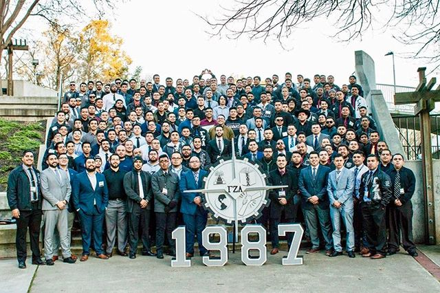 Big thank you to our brothers at Mu Chapter for hosting us National Conference this past weekend! From SoCal to NorCal and ASU too, we run the West Coast, that's just how we do!  #GoGammas #TúSabes #Since87
