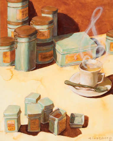 Tea and NPR