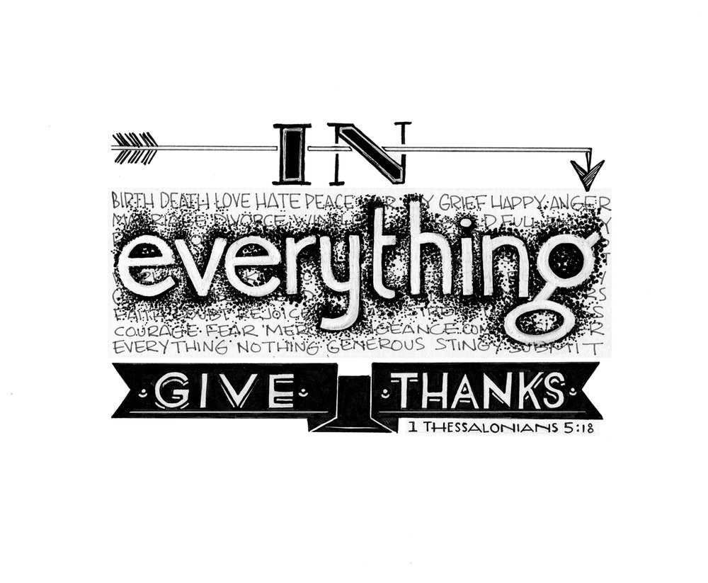 In Everything Give Thanks - Mikela Prevost