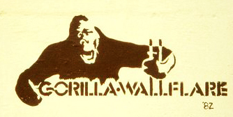 Gorilla Wallflare, 1982. (Photo:  Gorilla Wallflare )