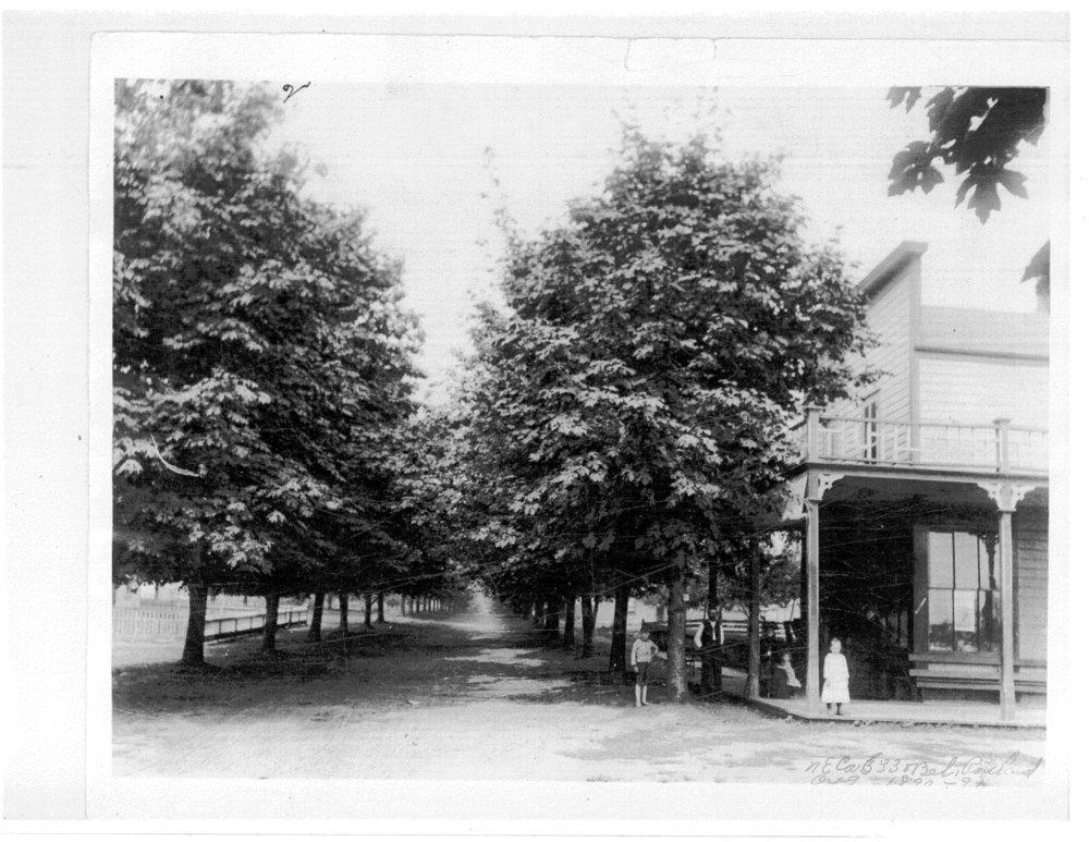 33rd + Belmont, Conrad Green Grocery (1889)