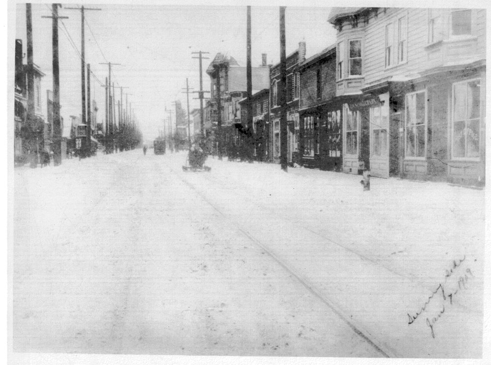 33rd + Belmont (January 1909)