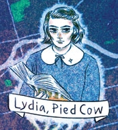 Lydia, illustrated in the  Portland Mercury