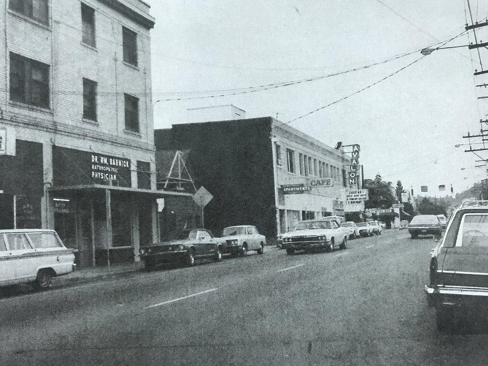 34th & Belmont, 1973
